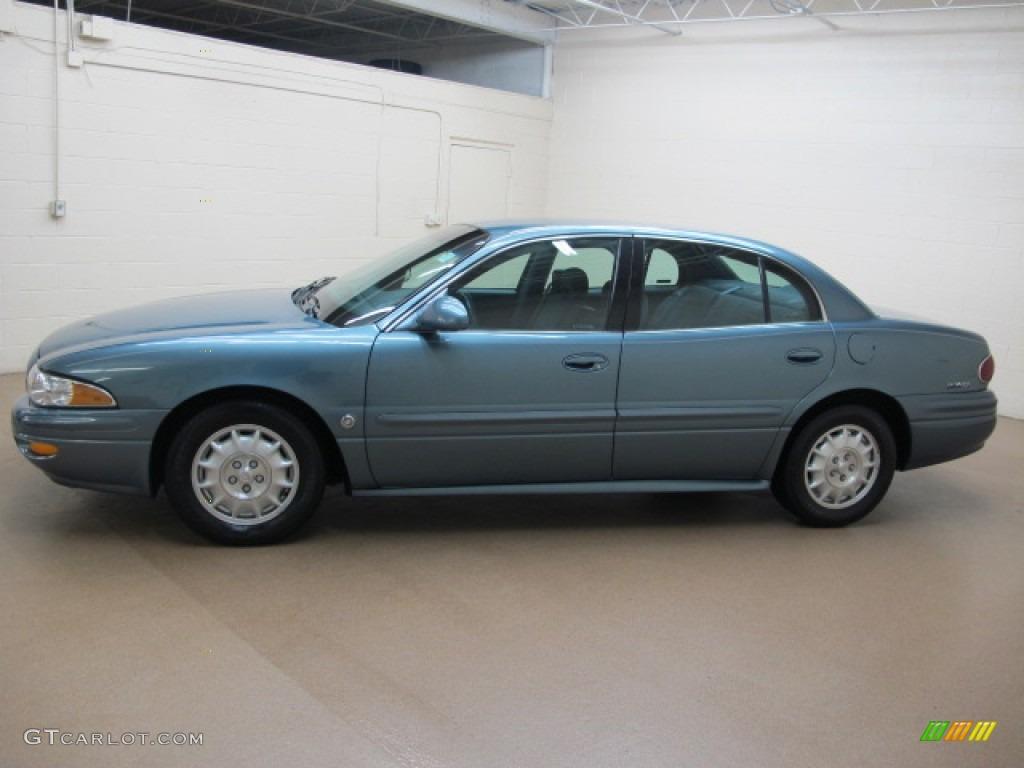 Titanium Blue Metallic 2000 Buick Lesabre Custom Exterior