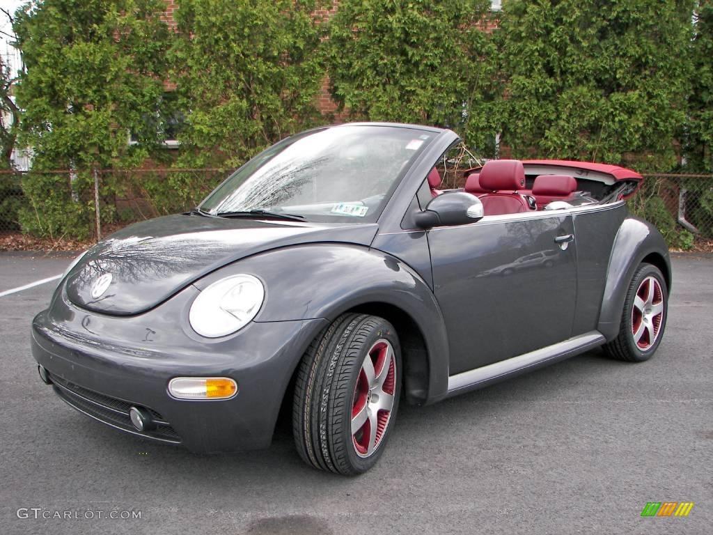2005 dark flint metallic volkswagen new beetle dark flint edition convertible 7789093. Black Bedroom Furniture Sets. Home Design Ideas