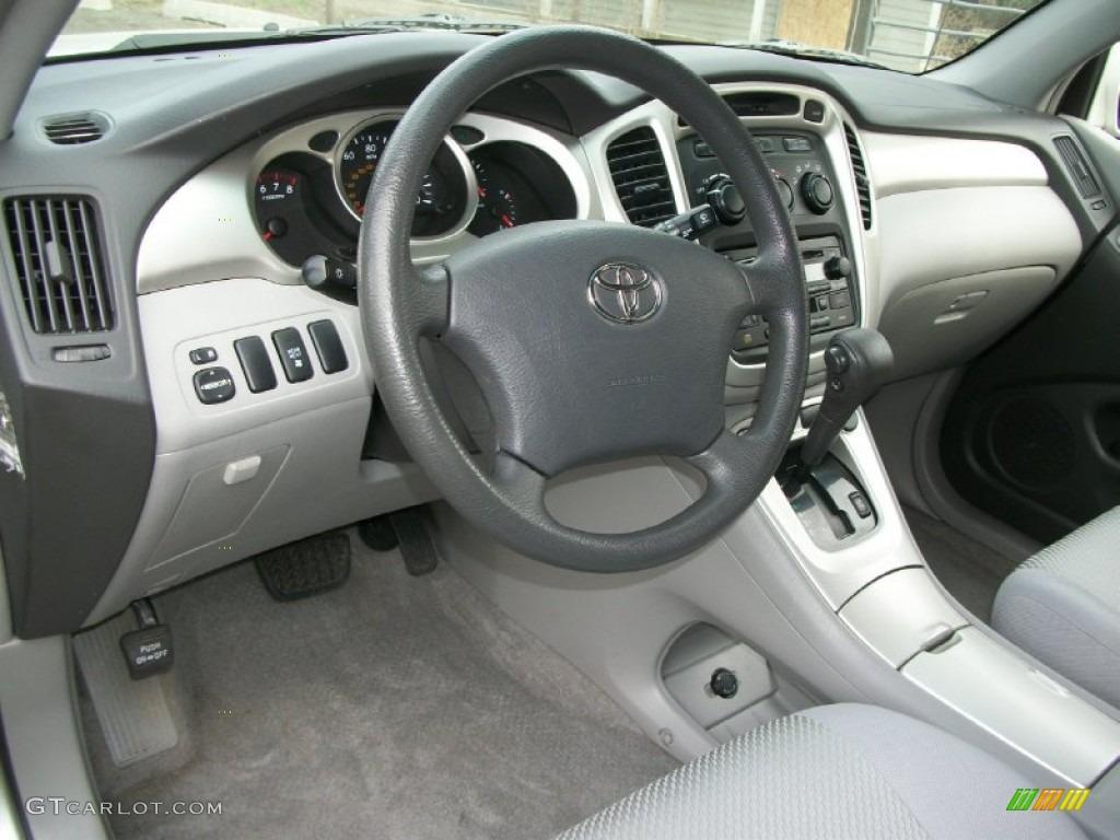 2006 Toyota Highlander V6 4wd Dashboard Photos