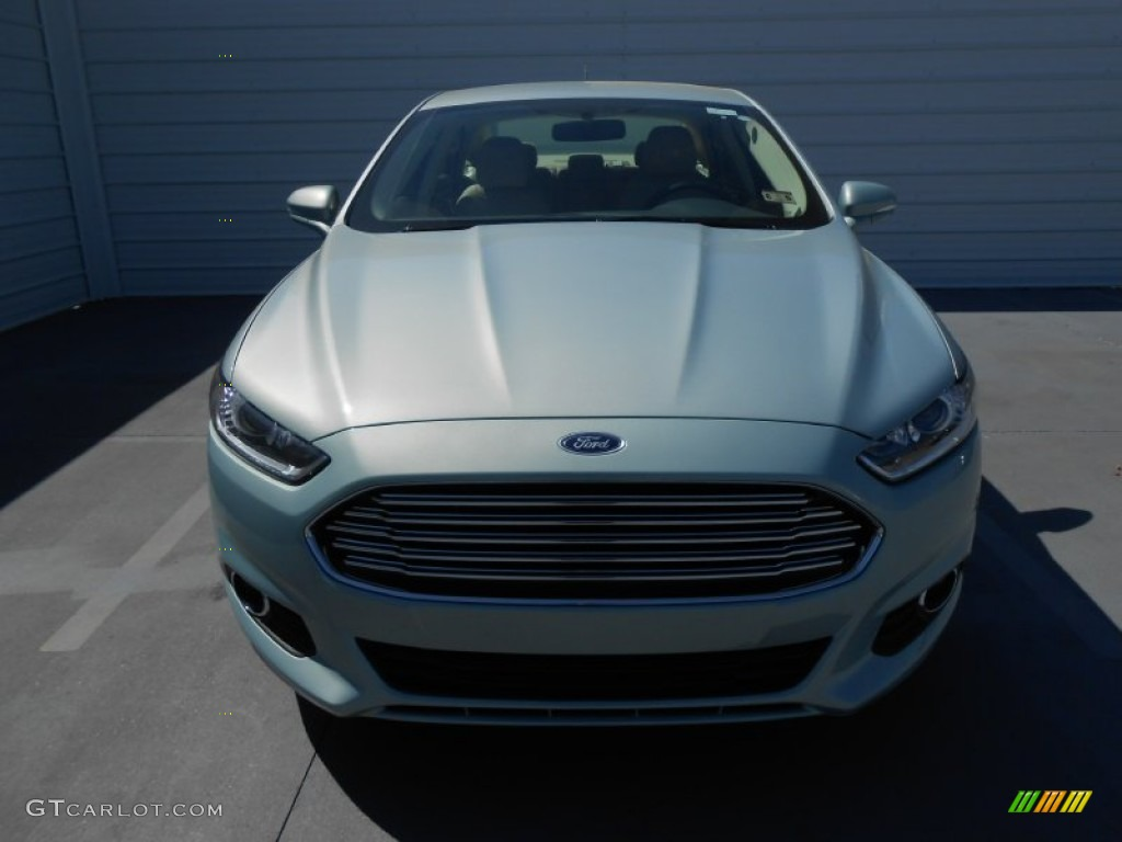 Ice Storm Metallic 2013 Ford Fusion Energi Se Exterior Photo 78305434