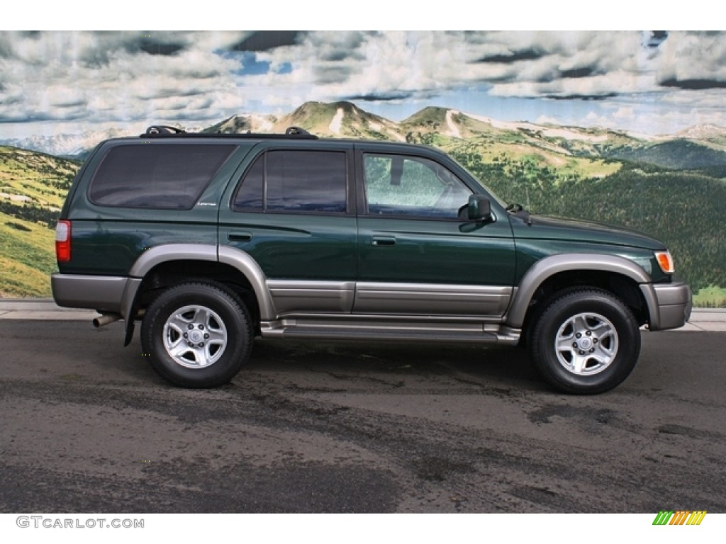Imperial Jade Green Mica 1999 Toyota 4runner Limited 4x4