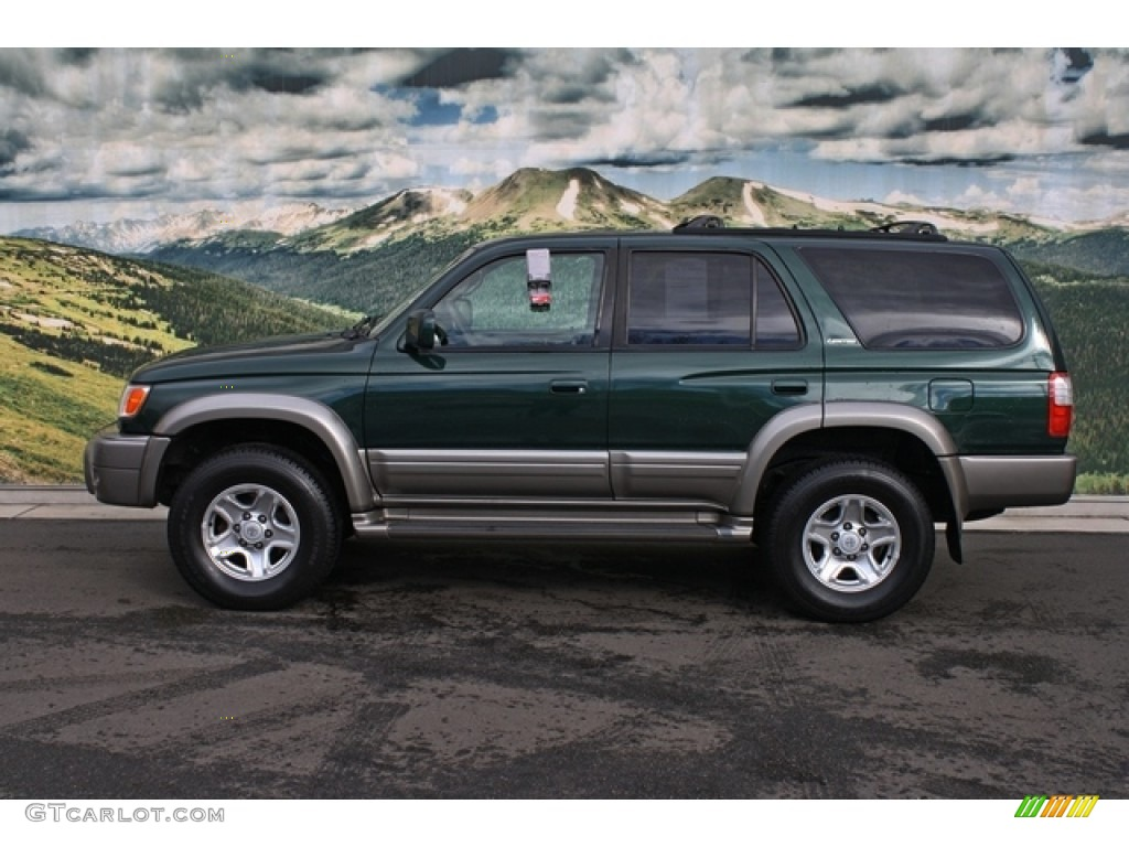 imperial jade green mica 1999 toyota 4runner limited 4x4 exterior photo 78311262. Black Bedroom Furniture Sets. Home Design Ideas