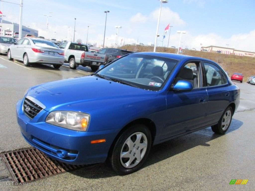 Tidal Wave Blue 2006 Hyundai Elantra Gls Sedan Exterior Photo 78323327 Gtcarlot Com