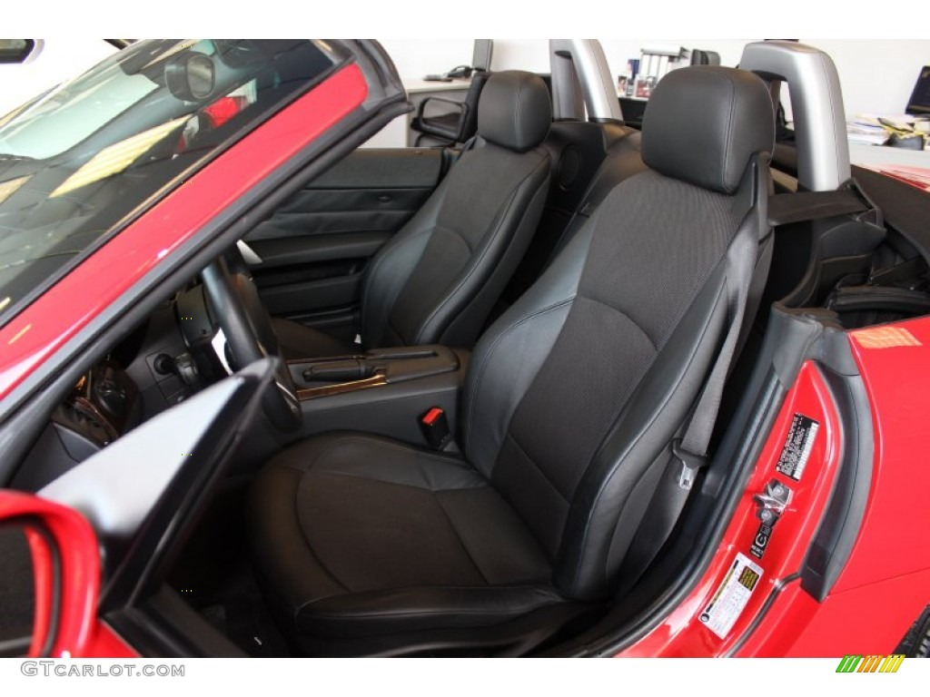 2006 Bmw Z4 3 0i Roadster Front Seat Photo 78329703