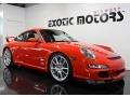 Guards Red 2007 Porsche 911 GT3 Exterior