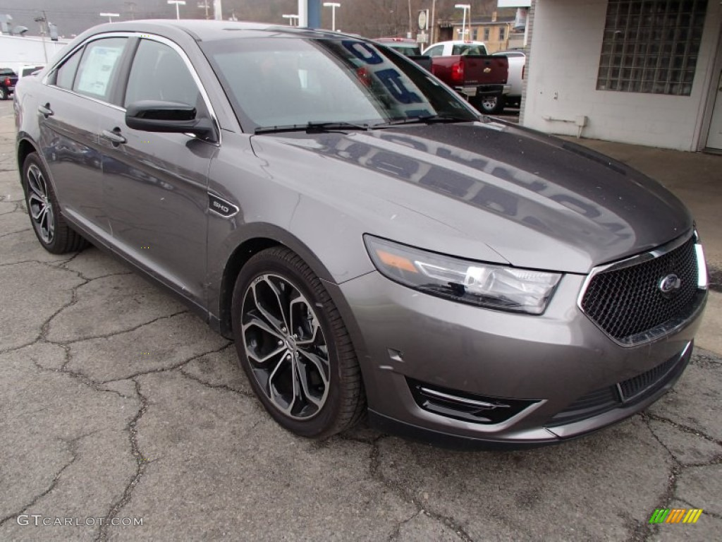 Sterling Gray Metallic 2013 Ford Taurus SHO AWD Exterior ...