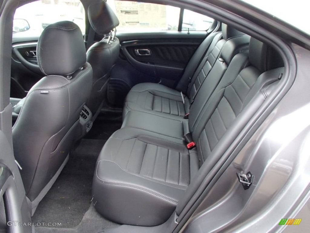 sho charcoal black leather interior 2013 ford taurus sho
