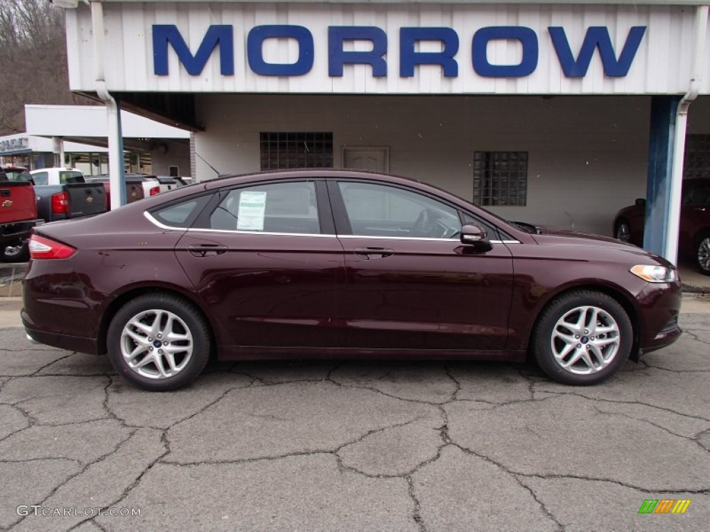 2013 Fusion SE 1.6 EcoBoost - Bordeaux Reserve Red Metallic / Charcoal Black photo #1