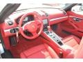 Carrera Red Natural Leather Interior Photo for 2013 Porsche Boxster #78340609