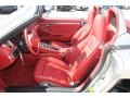 Carrera Red Natural Leather Front Seat Photo for 2013 Porsche Boxster #78340629