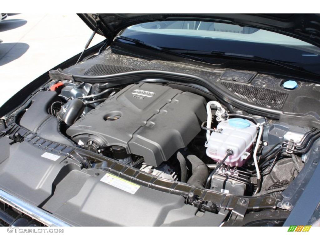 2013 audi a6 2 0t quattro sedan engine photos. Black Bedroom Furniture Sets. Home Design Ideas