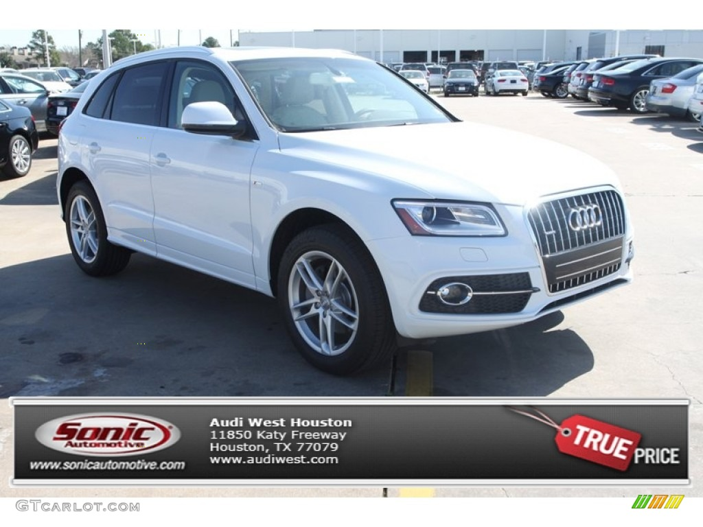 2013 glacier white metallic audi q5 3 0 tfsi quattro 78319898 car color galleries. Black Bedroom Furniture Sets. Home Design Ideas