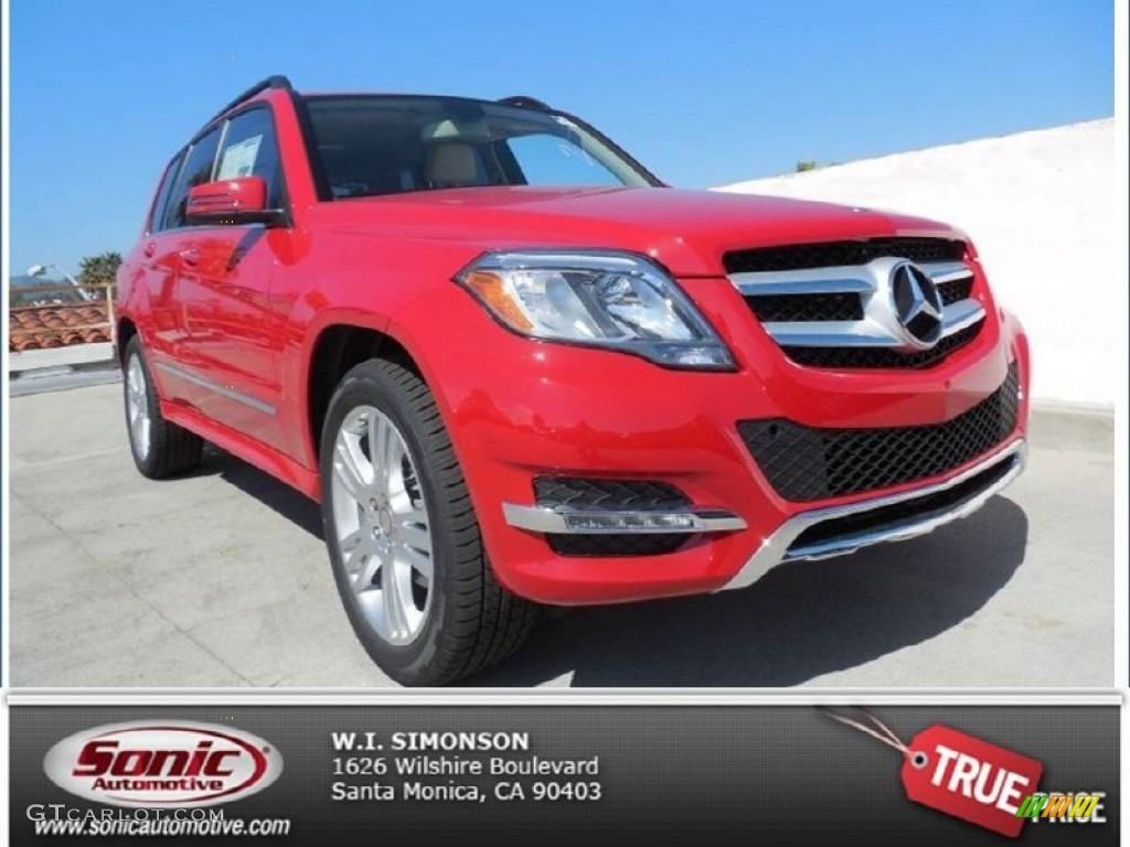 2013 Mars Red Mercedes Benz Glk 350 78319756 Photo 4