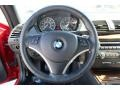 2009 BMW 1 Series Savanna Beige/Black Boston Leather Interior Steering Wheel Photo