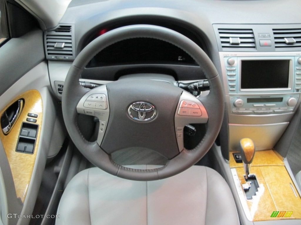 2007 toyota camry xle v6 ash dashboard photo 78370890. Black Bedroom Furniture Sets. Home Design Ideas