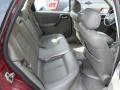 2004 Saturn L300 Gray Interior Rear Seat Photo