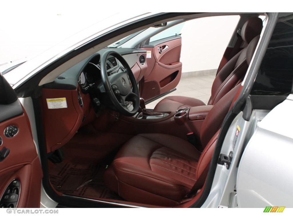Sunset Red Interior 2006 Mercedes Benz Cls 500 Photo 78378356