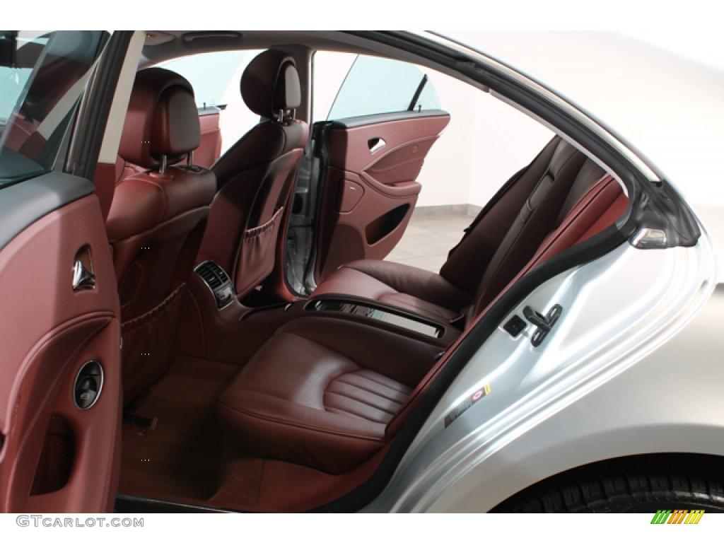 Sunset Red Interior 2006 Mercedes Benz Cls 500 Photo 78378383