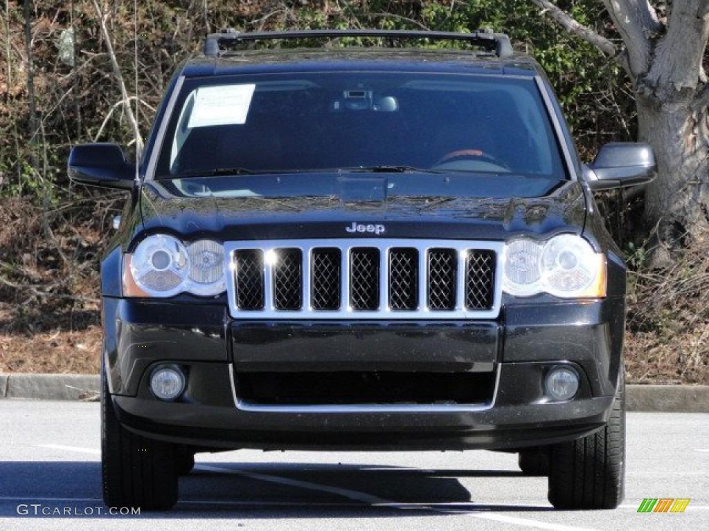 2009 Brilliant Black Crystal Pearl Jeep Grand Cherokee Overland 78374660 Photo 7 Gtcarlot Com Car Color Galleries