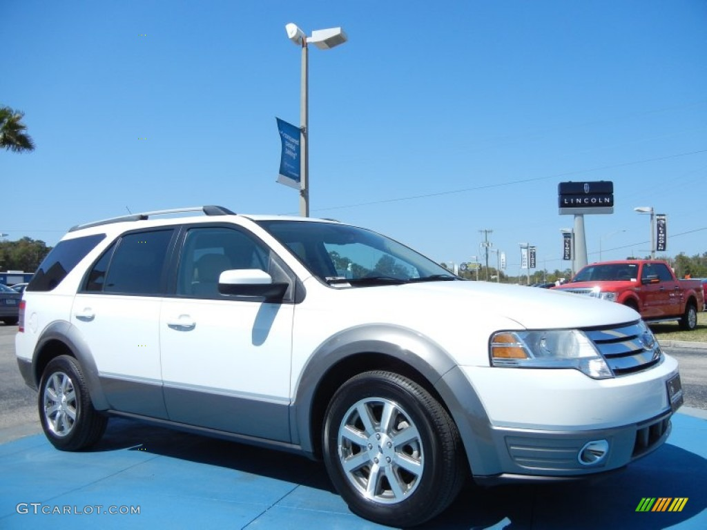 oxford white 2008 ford taurus x sel exterior photo. Black Bedroom Furniture Sets. Home Design Ideas