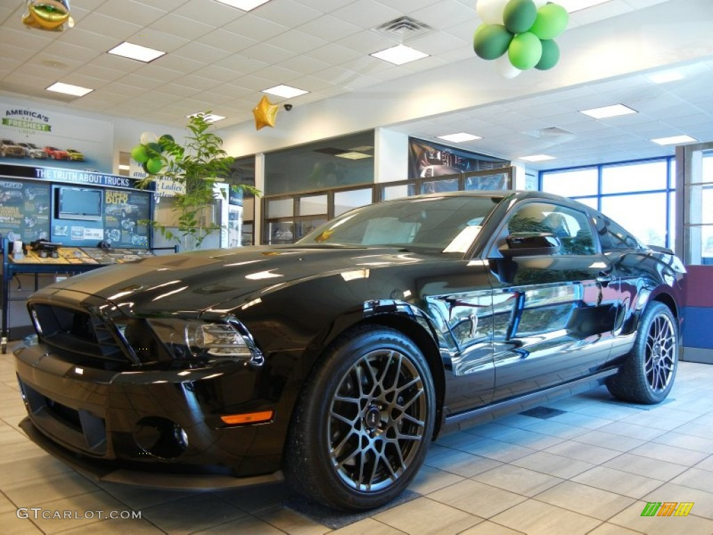 All Types 2013 black shelby gt500 : 2013 Black Ford Mustang Shelby GT500 SVT Performance Package Coupe ...