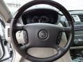 2008 Cadillac DTS Shale/Cocoa Interior Steering Wheel Photo