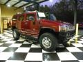 Red Metallic 2004 Hummer H2 SUV