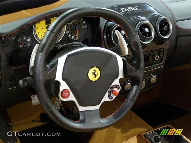 2007 Ferrari F430 Spider F1 2007 Ferrari F430 Steering Wheel F1 Gear Box Paddle Shifters Photo 78396 Gtcarlot Com