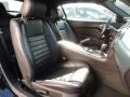 2013 Ford Mustang Charcoal Black Interior Front Seat Photo
