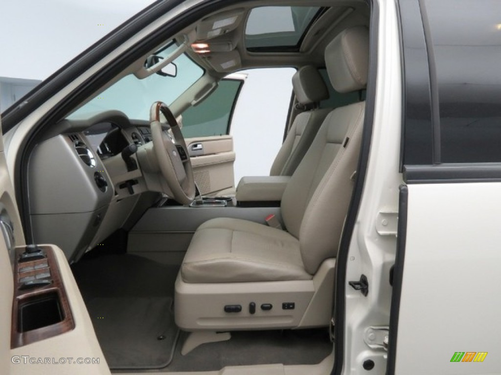 Stone Interior 2007 Ford Expedition El Limited Photo 78396653