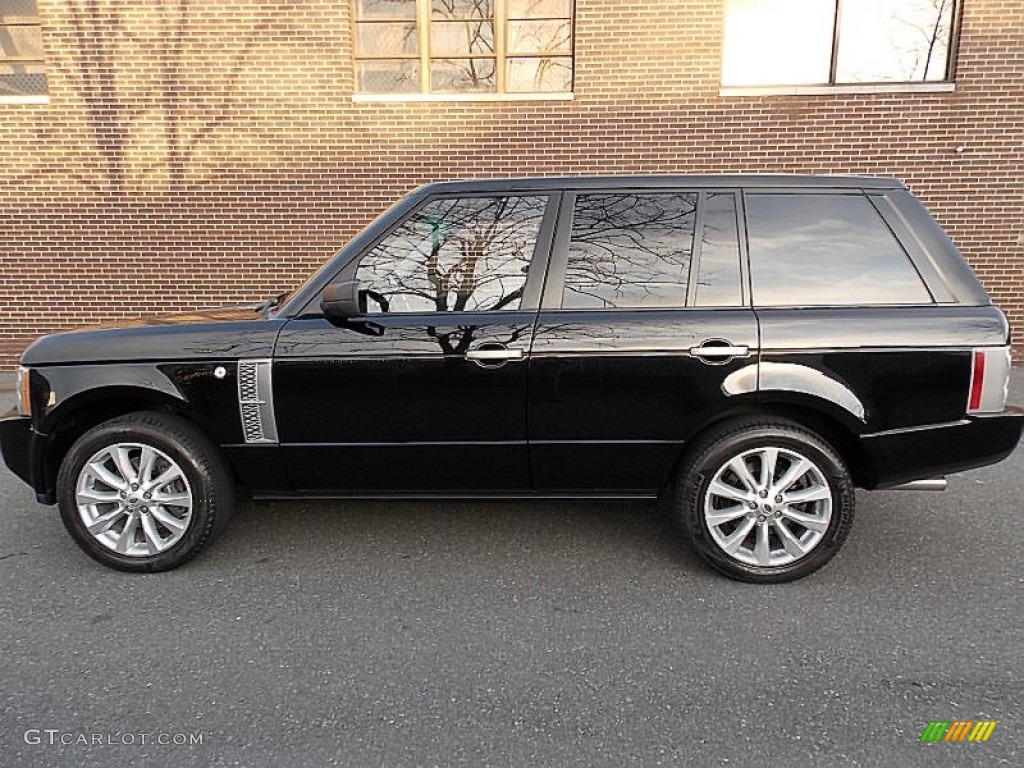 java black pearlescent 2008 land rover range rover. Black Bedroom Furniture Sets. Home Design Ideas