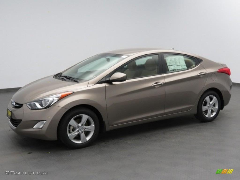 2013 Desert Bronze Hyundai Elantra Gls 78375340