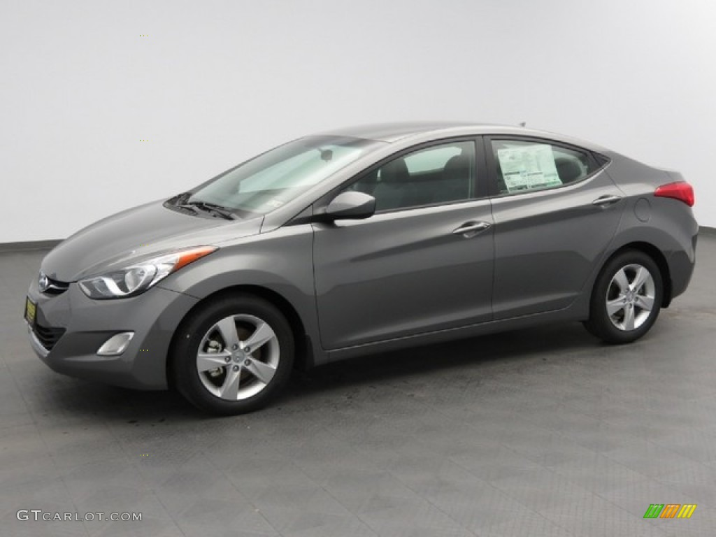 2013 Harbor Gray Metallic Hyundai Elantra Gls 78375337