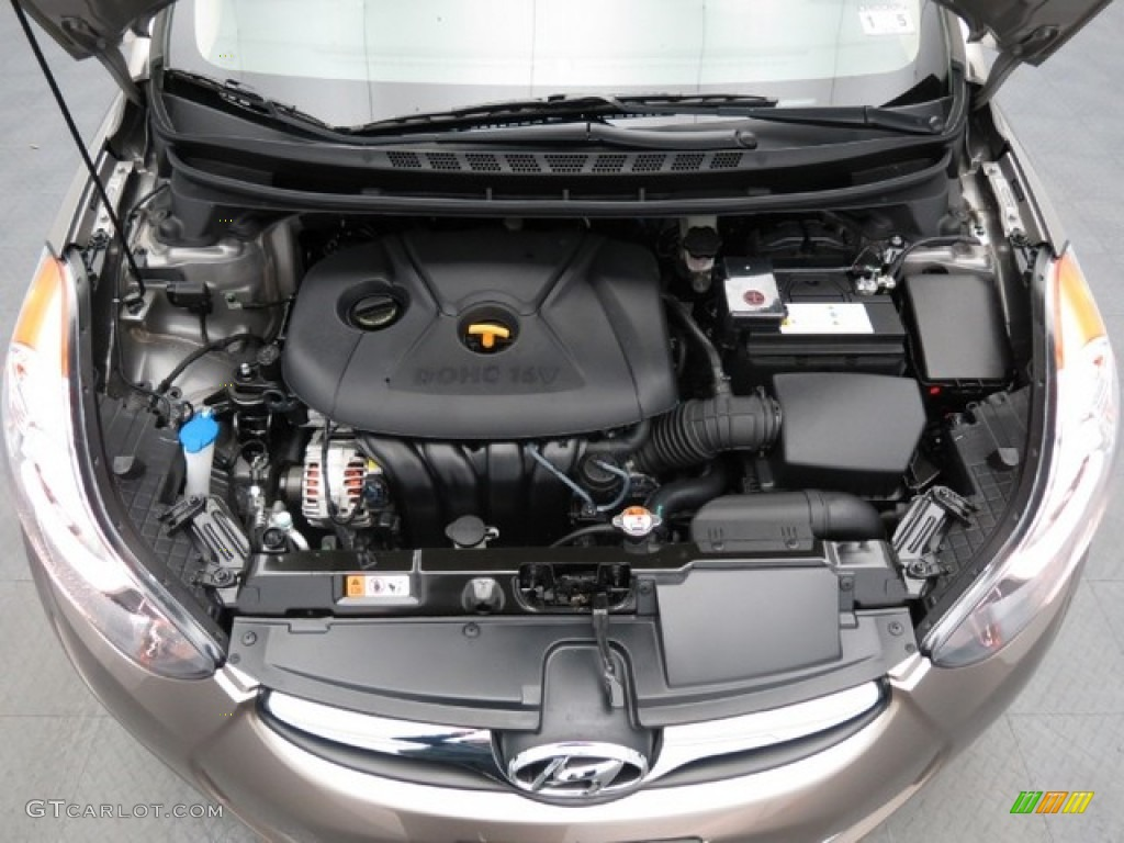 2013 Hyundai Elantra Gls Engine Photos