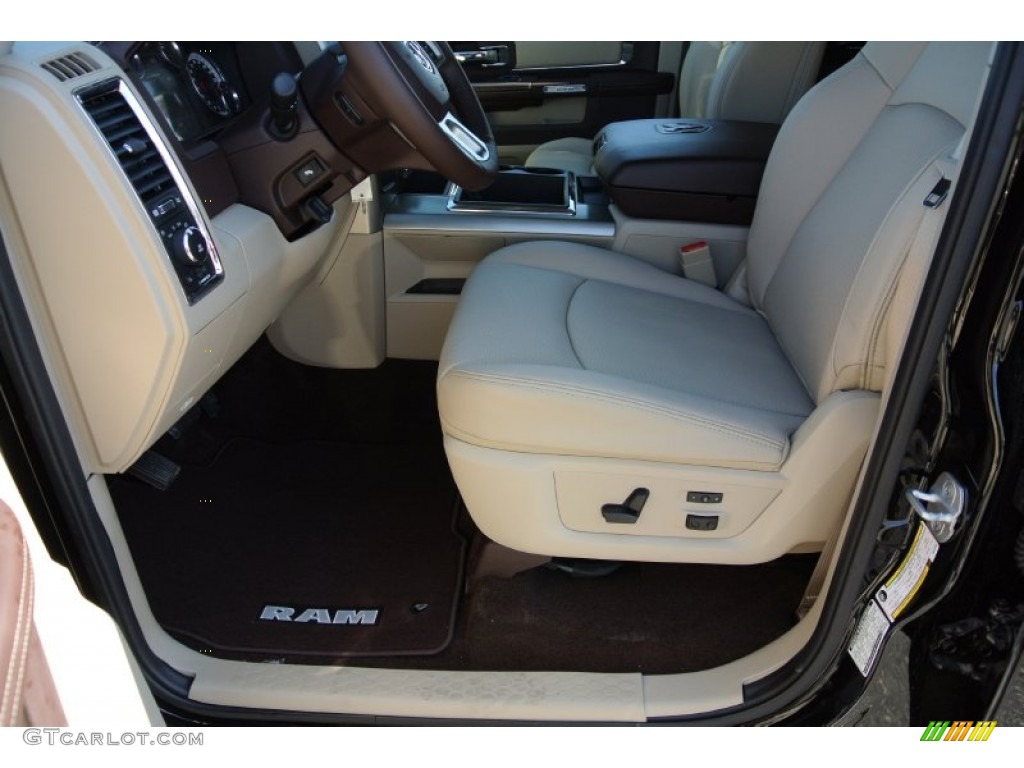 canyon brown light frost beige interior 2013 ram 2500 laramie crew cab 4x4 photo 78425490. Black Bedroom Furniture Sets. Home Design Ideas