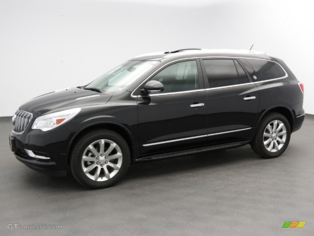 2013 Buick Enclave Black 200 Interior And Exterior Images