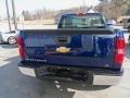 2013 Blue Topaz Metallic Chevrolet Silverado 1500 Work Truck Regular Cab 4x4  photo #3