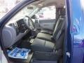 2013 Blue Topaz Metallic Chevrolet Silverado 1500 Work Truck Regular Cab 4x4  photo #11