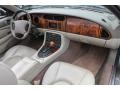 2002 Jaguar XK Oatmeal Interior Dashboard Photo