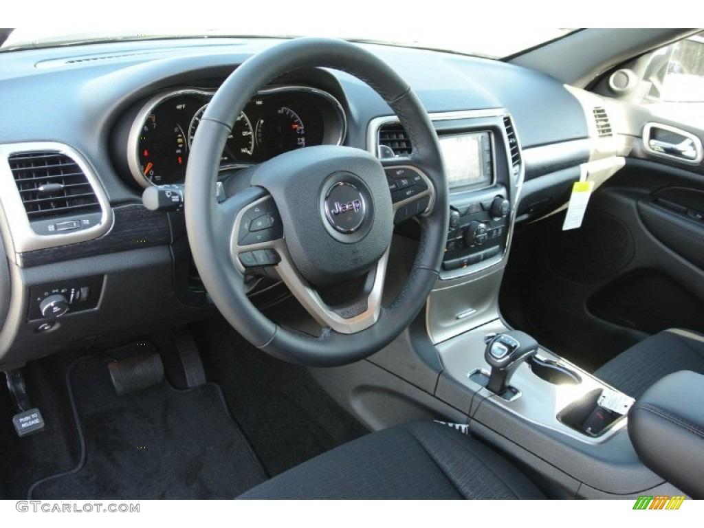 Morocco Black Interior 2014 Jeep Grand Cherokee Laredo Photo 78447690