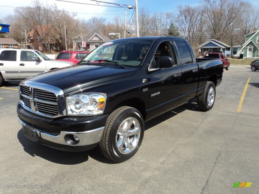 2008 dodge ram 1500 big horn edition quad cab 4x4 exterior photos. Black Bedroom Furniture Sets. Home Design Ideas