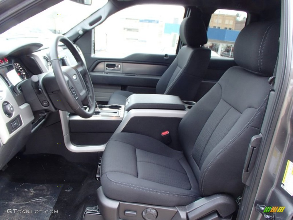 black interior 2013 ford f150 fx4 supercab 4x4 photo. Black Bedroom Furniture Sets. Home Design Ideas