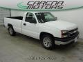 Summit White 2007 Chevrolet Silverado 1500 Classic Work Truck Regular Cab