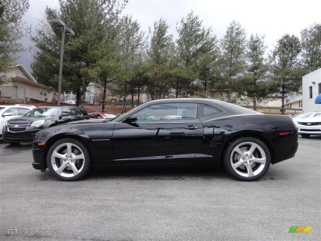 black 2013 chevrolet camaro ss coupe exterior photo