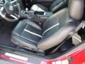 2011 Ford Mustang Charcoal Black/Cashmere Interior Front Seat Photo