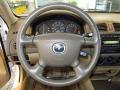 Beige 2001 Mazda Protege Interiors