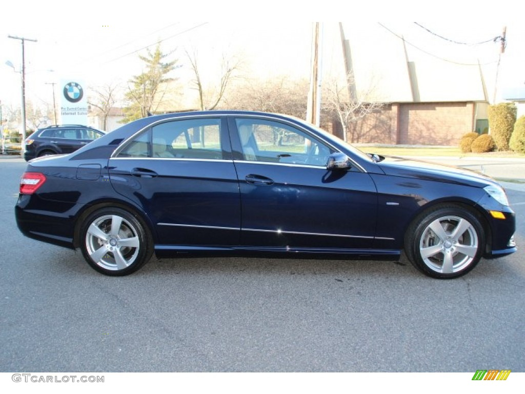 Lunar blue metallic 2012 mercedes benz e 350 4matic sedan for 2012 mercedes benz e350 4matic