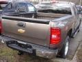 2013 Mocha Steel Metallic Chevrolet Silverado 1500 LT Extended Cab 4x4  photo #2
