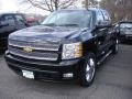 2013 Black Chevrolet Silverado 1500 LTZ Extended Cab 4x4  photo #1