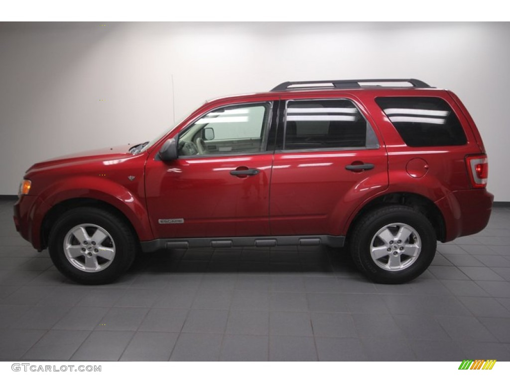 Redfire Metallic 2008 Ford Escape Xlt V6 Exterior Photo